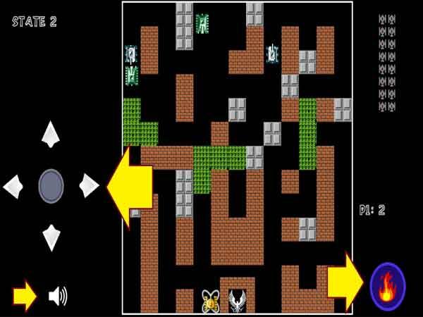 Game bắn xe tăng cổ điển - Battle City
