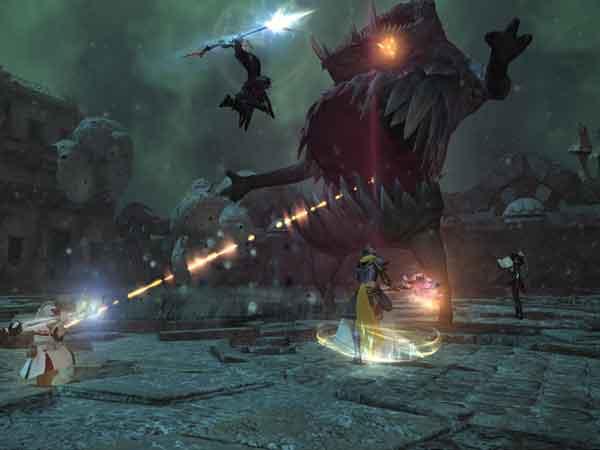 Game Final Fantasy XIV: A Realm Reborn