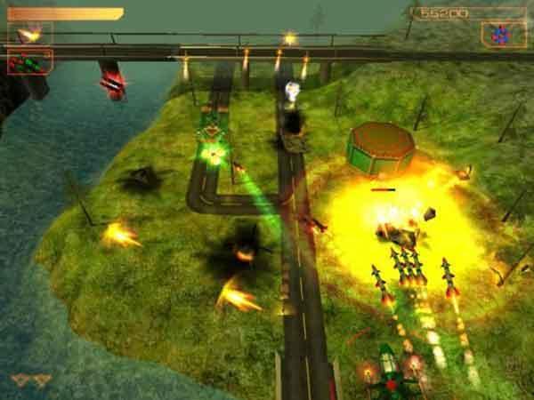 Game bắn máy bay Air Strike 3D