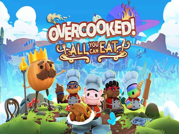 Game co-op Overcooked: All You Can Eat