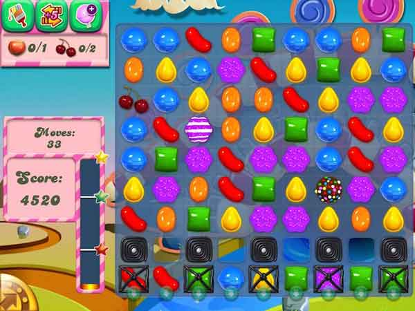 Candy Crush Saga - Game match 3 hay nhất 2021