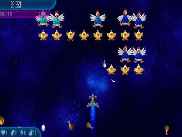Game bắn gà Chicken Invaders 1 (1999)